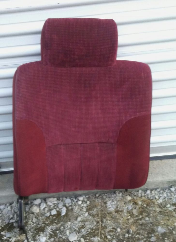 1994 1995 1996 1997 Dodge Ram Passenger Seat Back Rest Cushion Foam Recliner Red Dodgeram Dodge Dodgeram1500 Dodgeram2500 Used Car Parts Dodge Ram Cushions