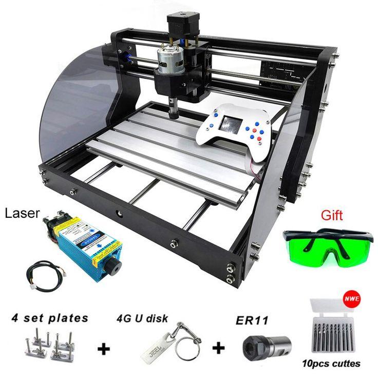 Cnc 3018 Pro Max Laser Engr In 2020 Laser Engraving Machine Wood Router Laser Engraving