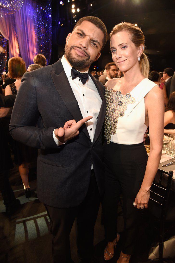 Pin for Later: 70 Choses Qui Ont Eu Lieu aux SAG Awards et Que Vous Avez Probablement, Définitivement Manqué  O'Shea Jackson et Kristen Wiig