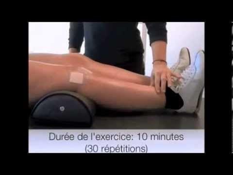 Rééducation après chirurgie du genou - YouTube