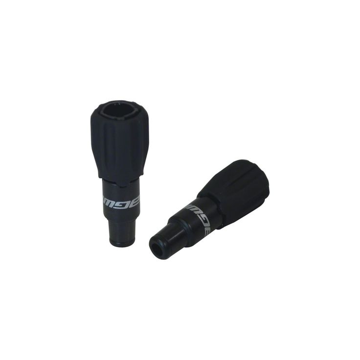 New Jagwire Sport 4mm Direct Rocket II Cable Tension Adjusters Pair Black