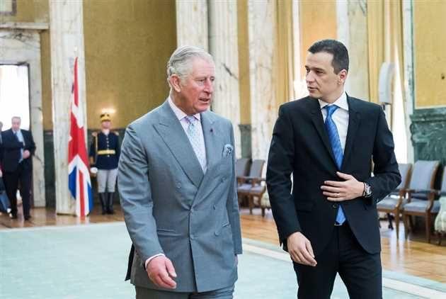 Grindeanu si Printul Charles au discutat despre excelentele relatii bilaterale dintre România si Marea Britanie, în special din punct de vedere militar si politic