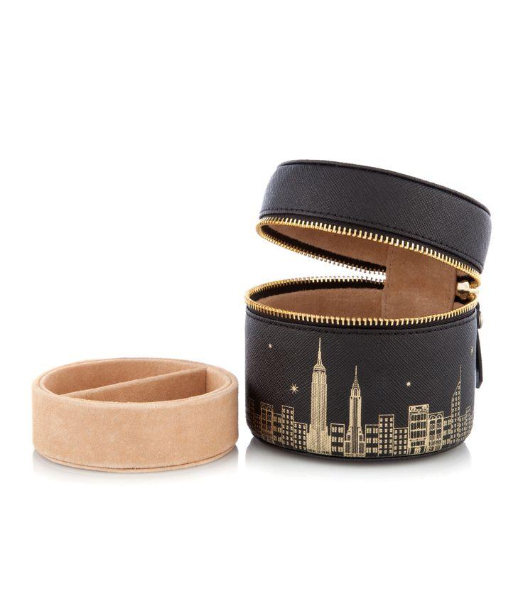 New York Skyline West 57th Travel Jewelry Box | Accessories | Henri Bendel