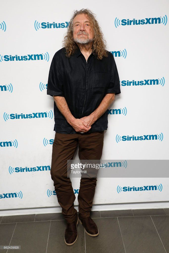 Robert Plant at SiriusXM in New York, October 2017.