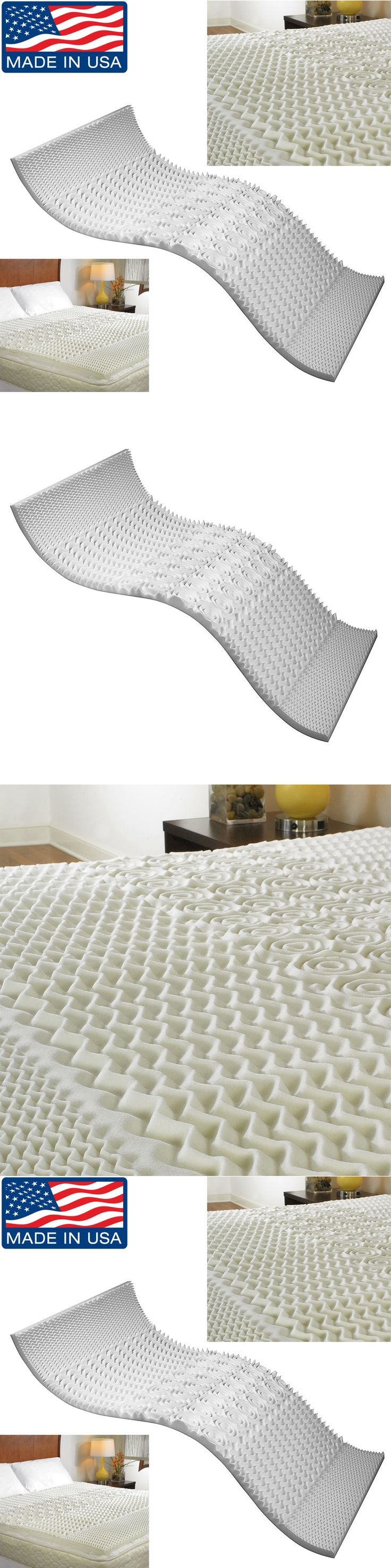 Mattress Pads and Feather Beds 175751: Memory Foam Mattress Topper  Hypoallergenic Cooling Gel Orthopedic Pad