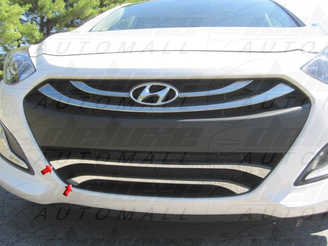 NEW ITEM! GRILLE ACCENT TRIM (2 pieces) for HYUNDAI ELANTRA 2012-2015 #hyundaielantra #cars http://www.deluxeautomall.com/grille-accent-trim-2-pieces-stainless-steel-lower-grille-trim-hyundai-elantra-2012-2013-2014.html