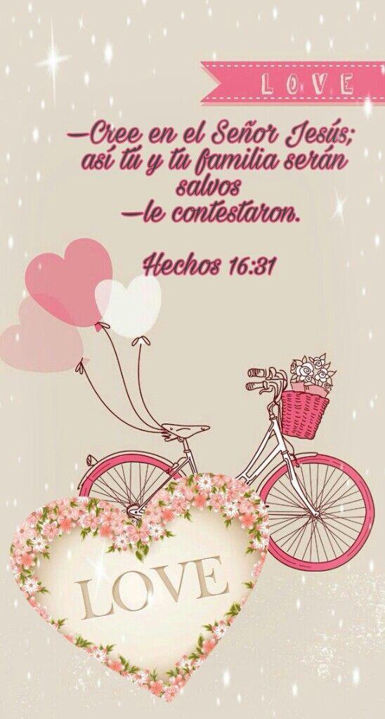 —Cree en el Señor Jesús; así tú y tu familia serán salvos —le contestaron. Hechos 16:31
