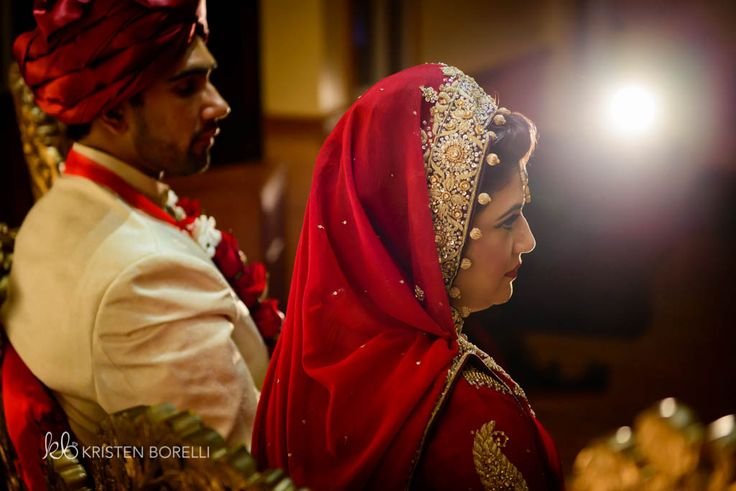 Pakistani bride and groom (Kristen Borelli Photography, Pakistani Wedding, Vancouver Island Wedding Photography, Victoria Wedding Photography, Nanaimo Wedding Photography, Prince George Wedding Photography)