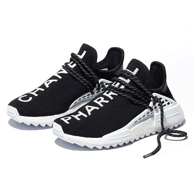b3415b34be7c The Chanel x Pharrell x adidas NMD Hu has been officially revealed. Only  500 pairs