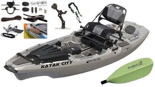 Bonafide Ss107 Fishing Kayak Top Gun Grey Interesting