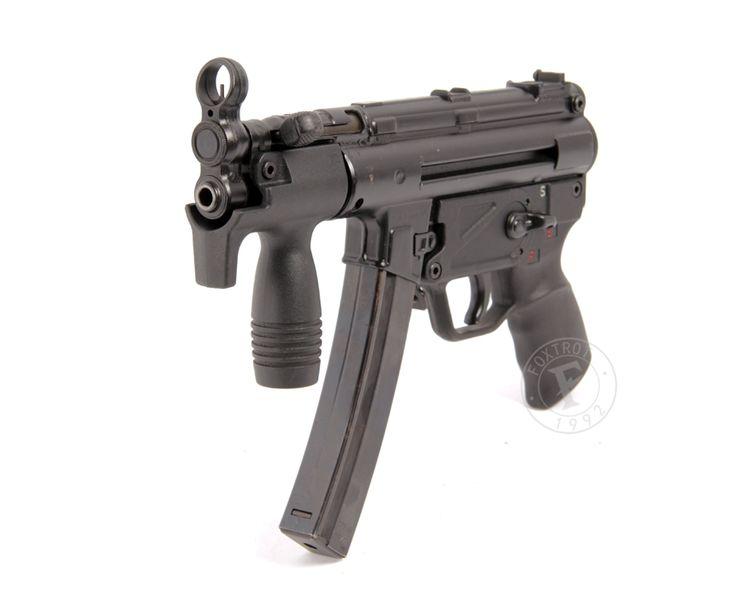 heckler and koch machine pistol   Heckler & Koch MP5K 9 x 19mm sub-machine gun « Foxtrot – Firearms ...