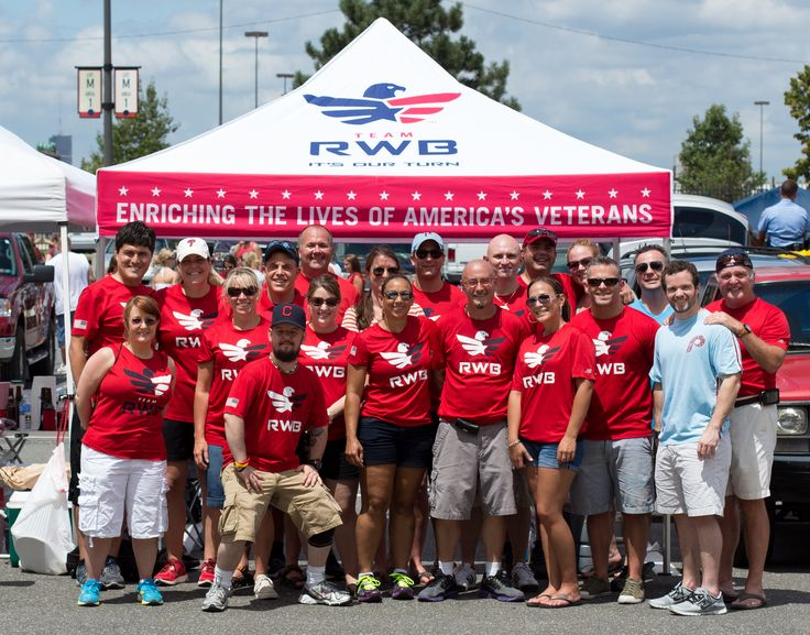 Team Red, White & Blue (RWB) - Veteran service organization for younger veterans with an emphasis on running sports and service.