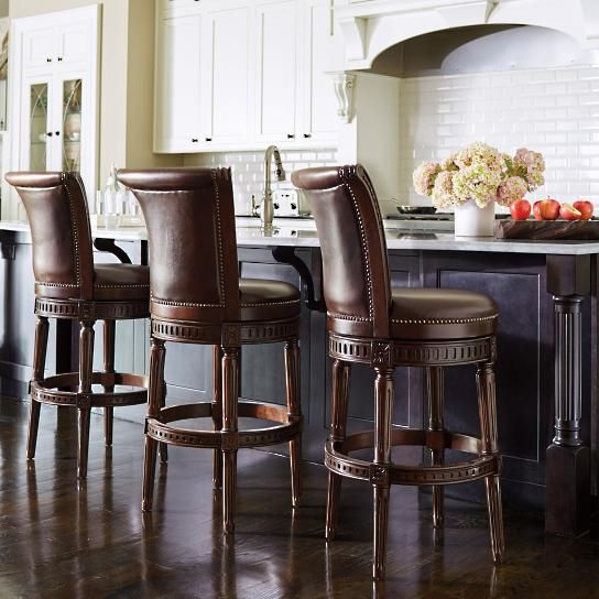 Best 25 Swivel Bar Stools Ideas On Pinterest Leather
