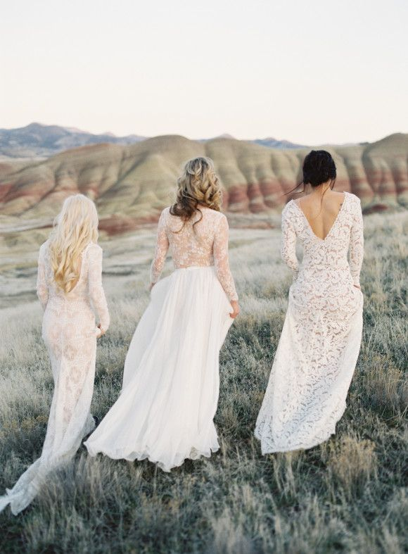 gowns by emily riggs | photo by michael radford