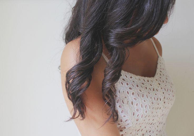 HAIR TUTORIAL // QUICK & EASY NO HEAT CURLS