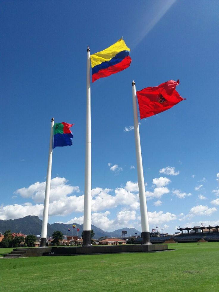 Military colombian flags