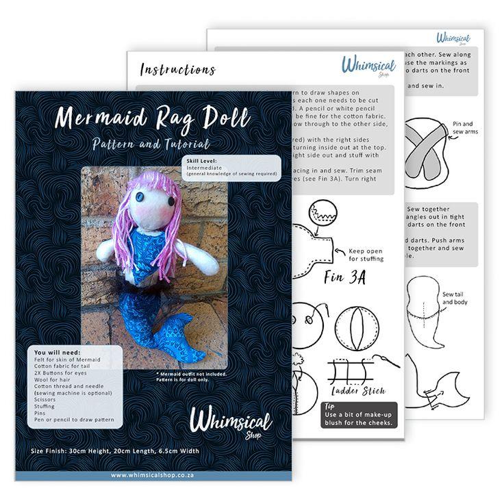Mermaid PDF Sewing Pattern