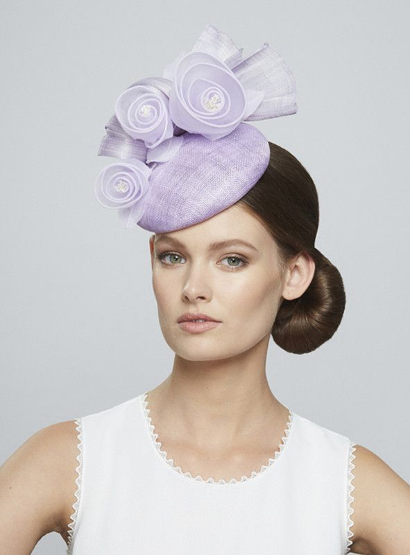 Juliette Botterill Millinery | Organza Rose and Bow Mini | Lila and Berets | LOVEHATS.COM