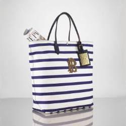 Ralph Lauren Polo RL Stripes asas blanco / azul Online
