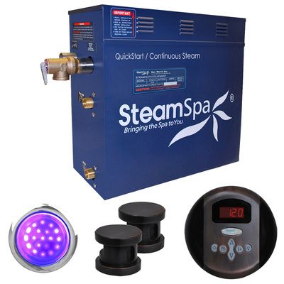 Steam Spa, IN1050OB, , Steam Spa Indulgence Package For Steam Spa 10 5Kw Steam Generators Oil Rubbed Bronz
