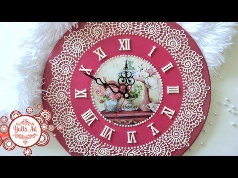 Yutta Art  Дизайнерские часы.