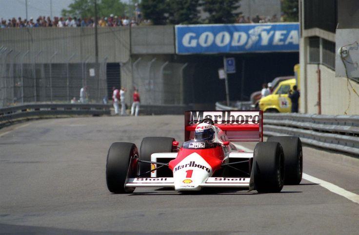 Alain Prost, Detroit 1987, McLaren MP4/3