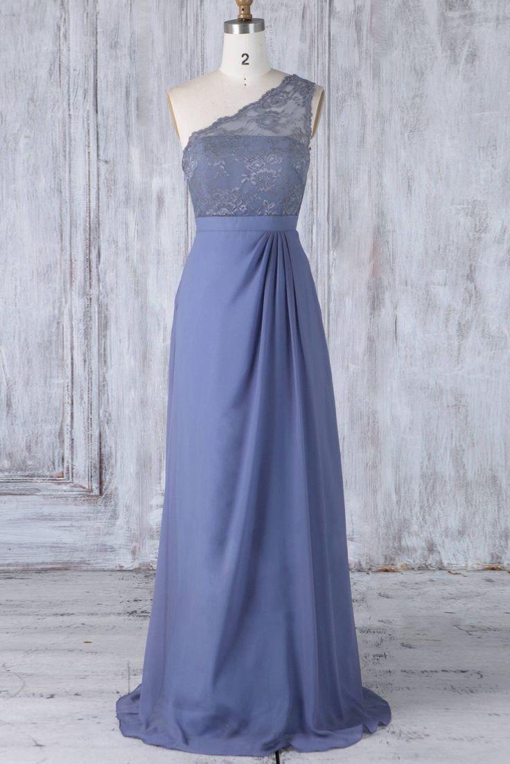 Elegant Lace One Shoulder Sleeveless Long Solid Sheath Bridesmaid Gown – #bridesmaid #wedding #bridesmaiddress #homedecor #quotes #bts #shorthairsty...