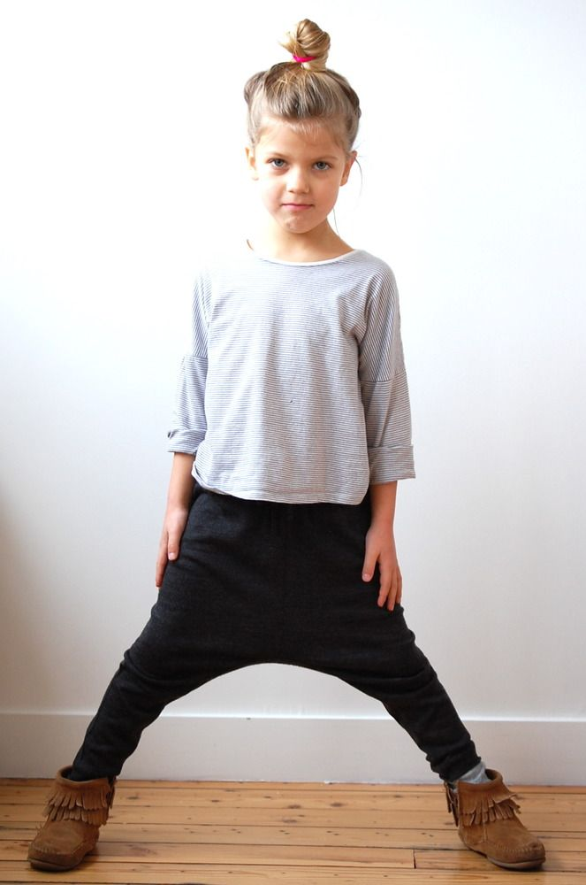 Image of Minnetonka double frange. In love with these pants for kids, abi can have matching hammer pants lol.