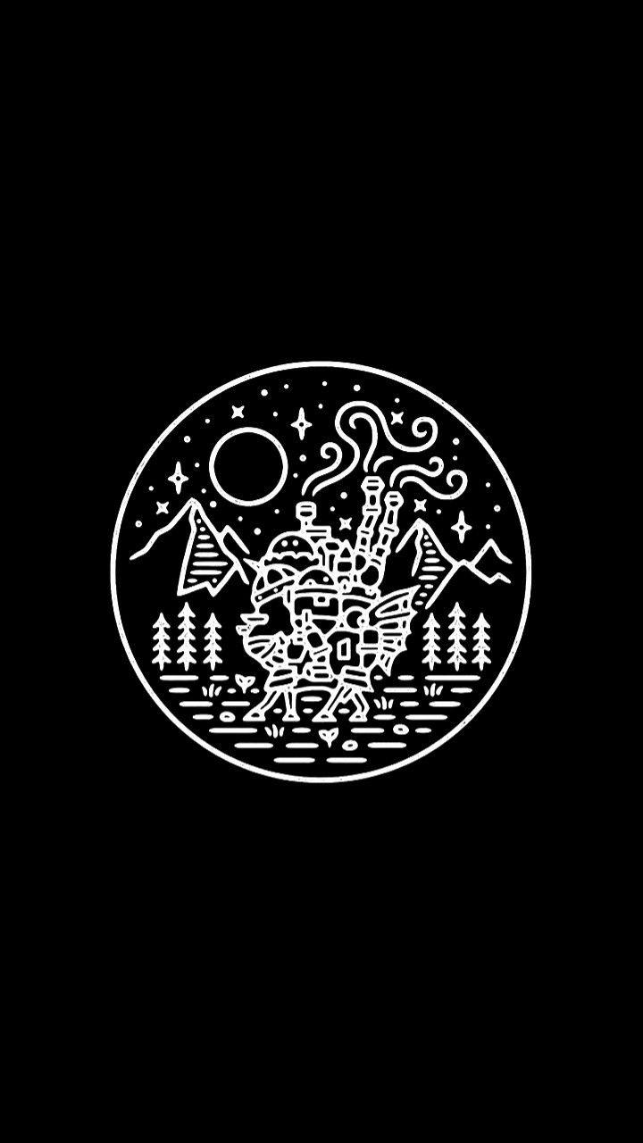 Pin By Jitez Tiwari On Studio Ghibli Black Wallpaper Black