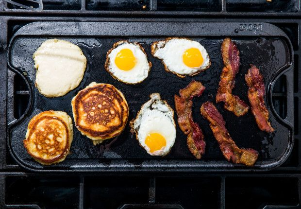 You 10000000% Need a Cast-Iron Griddle photo