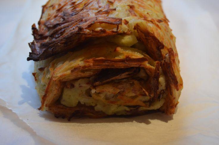 Foto: Sara B. Clausen   Nytårsaften fik vi disse kartoffelroulader som tilbehør til hovedretten. Det ser ret festligt ud og smager også sk...