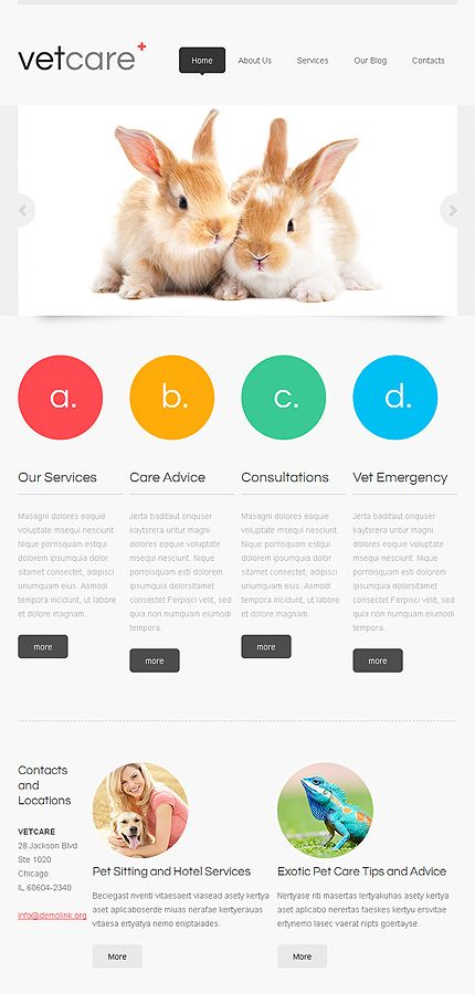 template monster- Joomla Website Template #44665