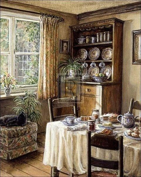 Tea-Time A. Griffin