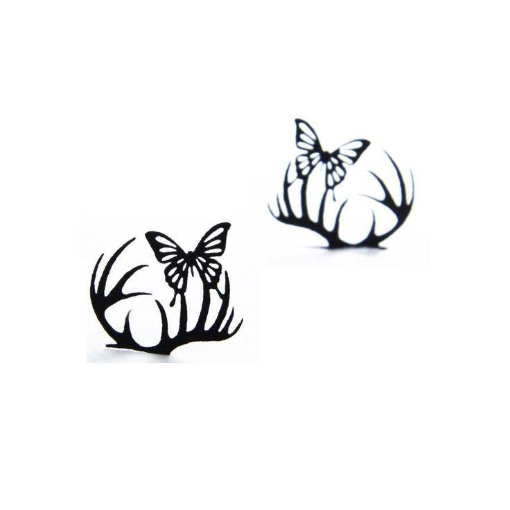 Paperself - Kunstwimpers - Small Deer & Butterfly - online bij douglas.nl