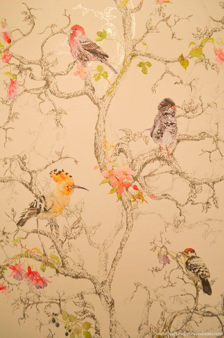 B&Q Bird Wallpaper Bird wallpaper, Wallpaper, Cool wallpaper