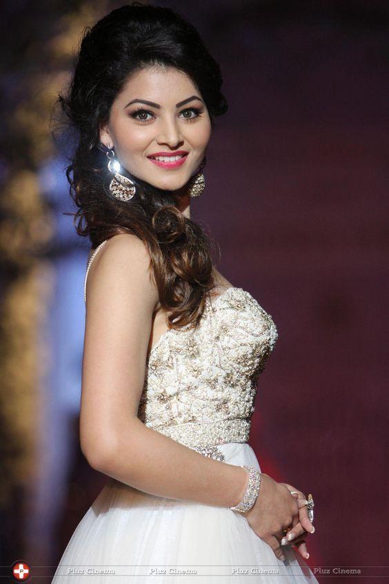 Urvashi Rautela in beautiful white dress.