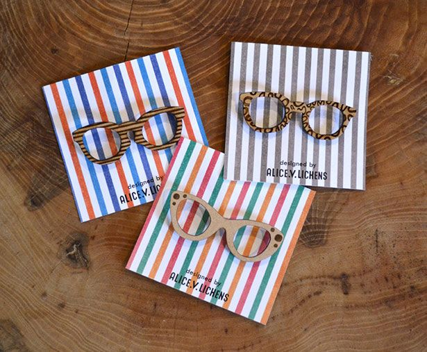 Specs brooches