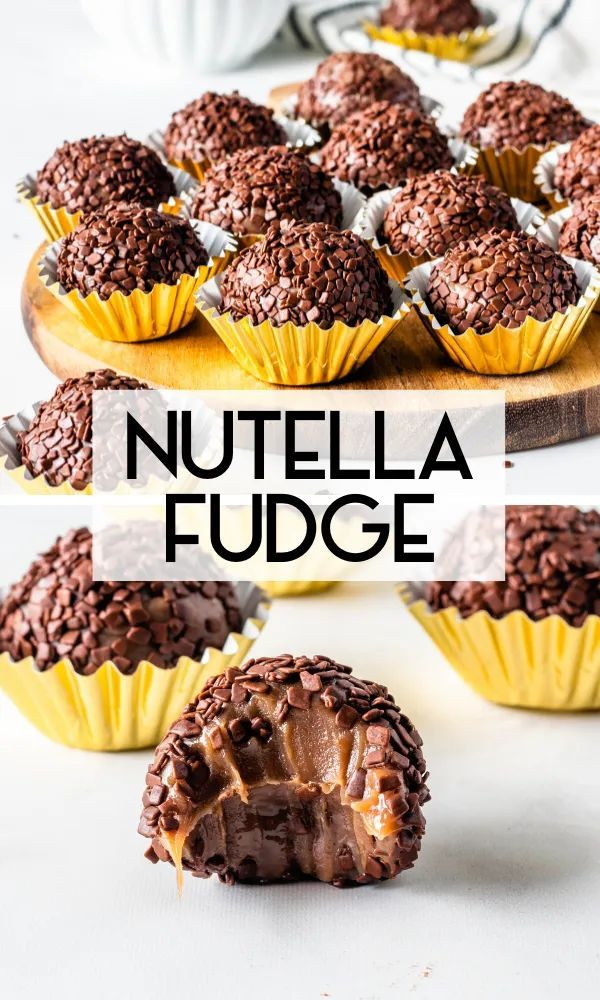 Nutella Fudge Recipe In 2020 Nutella Fudge Nutella Recipes Nutella Recipes Easy