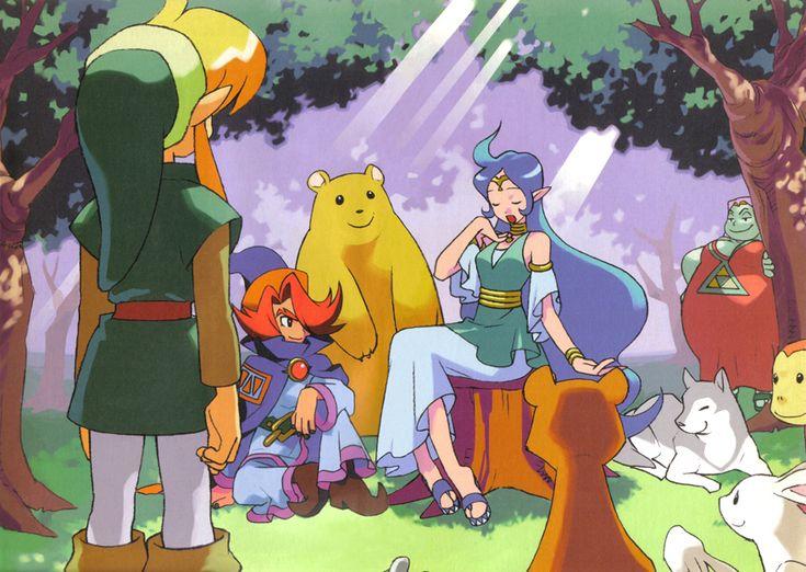 Link meets Nayru