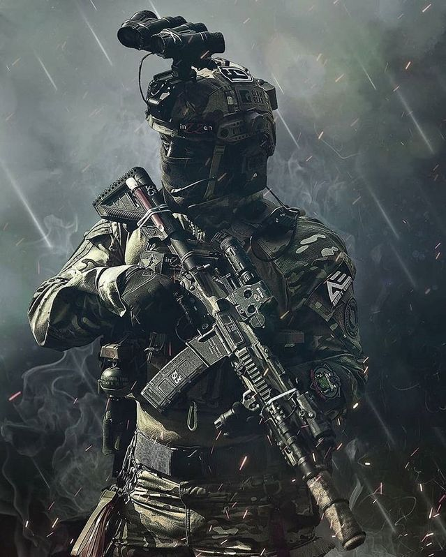 Black Ops Military Wallpaper Military Art Military Artwork