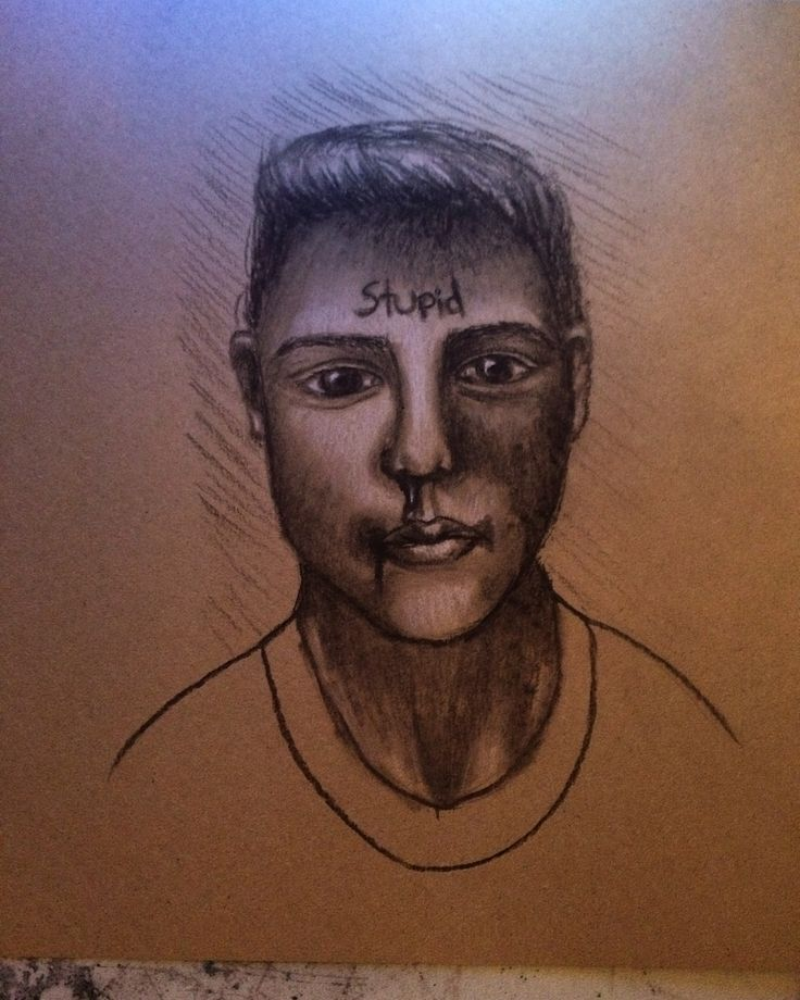 charcoal on brown paper || by Ashleigh Hunter