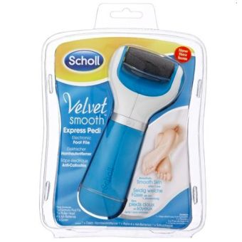 Scholl velvet râpe electrique anti-callosité smooth express pedi pièce 1 Scholl