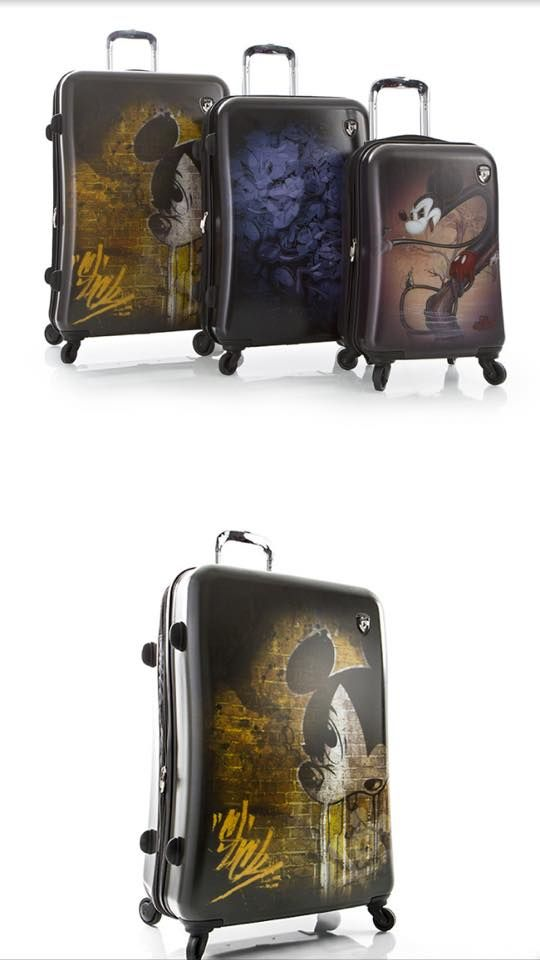 Mickey Mouse luggage