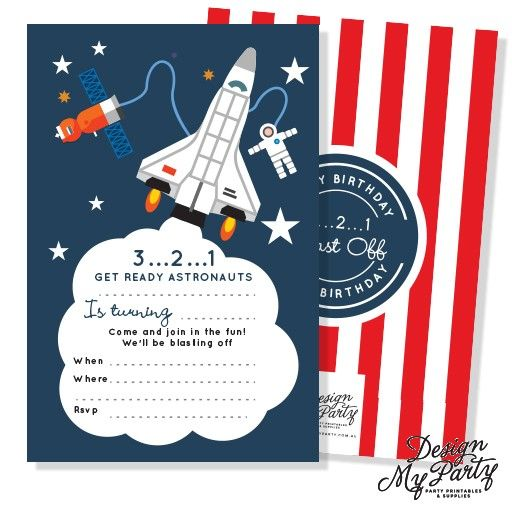 astronaut invitations - photo #24