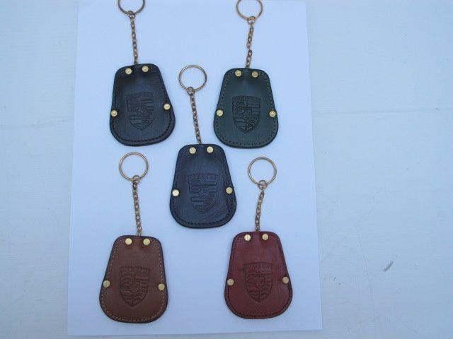 Genuine leather Porsche key fob 356 & early 911