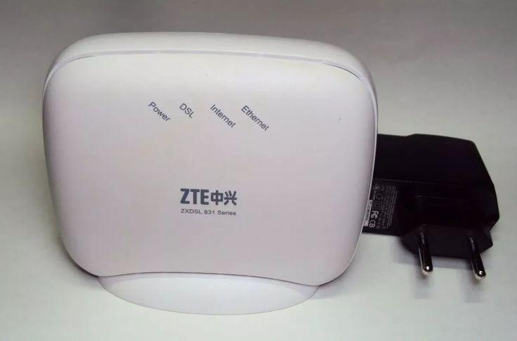 modem adsl zte zxdsl 831ii series v1