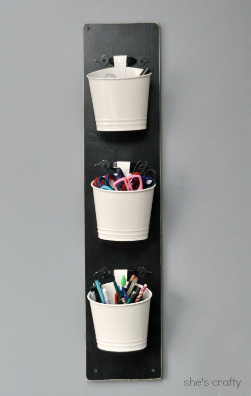 wall mounted craft tool holder organizing pinterest drawer pulls door handles and sandpaper. Black Bedroom Furniture Sets. Home Design Ideas