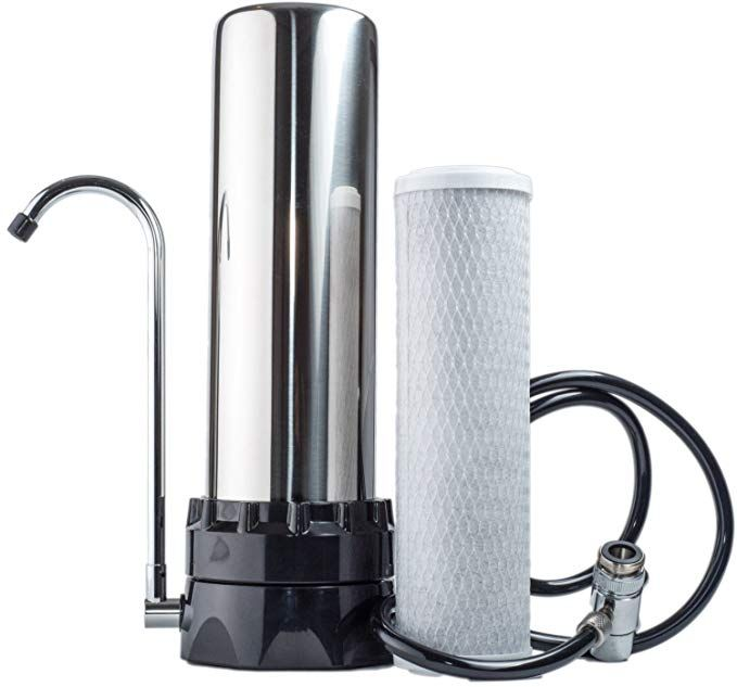 Lake Industries The Stainless Steel Countertop Water Purifier