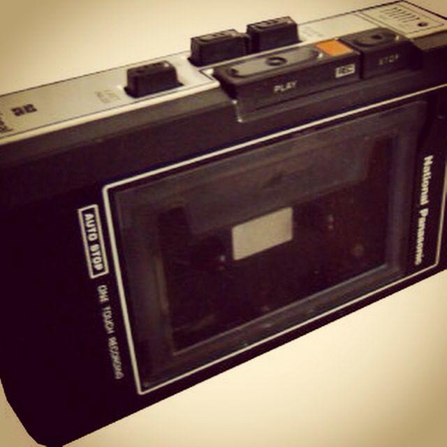 Casetera antigua National Panasonic