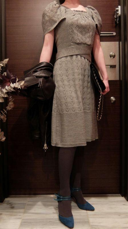 ÖKO's Coordinate Blog  Ivana Helsinki dress  ×  MANOLO BLAHNIK heels